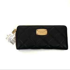 Michael Kors quilted Hamilton wallet